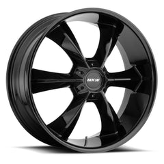 MKW Wheels M119 Full Gloss Black