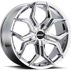 MKW Wheels M121 Chrome