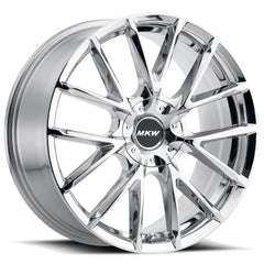 MKW Wheels M123 Chrome