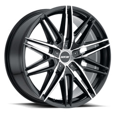MKW Wheels M124 Gloss Black