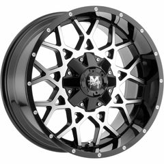 Off-Road Monster Wheels M14 Black Machine
