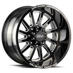Off-Road Monster Wheels M17 Black Milled