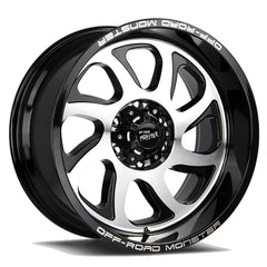 Off-Road Monster Wheels M22 Black Machine