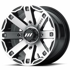 MSA Off-Road Wheels M27 Rage Black Machine