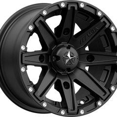 MSA Off-Road Wheels M33 Clutch Satin Black