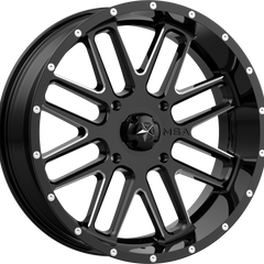 MSA Off-Road Wheels M35 Bandit Black Milled