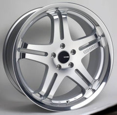 Enkei Wheels M5 Silver Machined