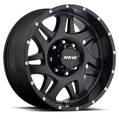 MKW Wheels M91 Full Satin Black