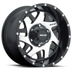 MKW Wheels M91 Gloss Black Machine Face