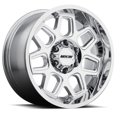 MKW Wheels M92 Chrome