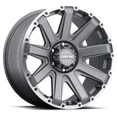 MKW Wheels M94 Grey Machine Ring