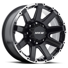 MKW Wheels M94 Satin Black Machine Ring