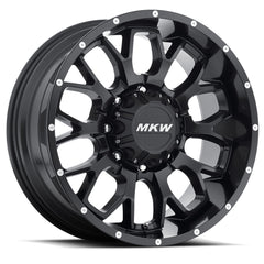 MKW Wheels M95 Full Satin Black