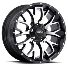 MKW Wheels M95 Satin Black Machine Face