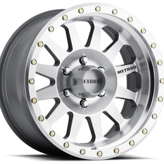 Method Wheels MR304 Double Standard Silver Machined