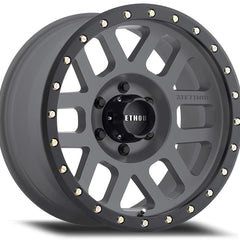 Method Wheels MR309 Grid Titanium Gray Black Ring