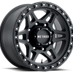 Method Wheels MR312 Matte Black