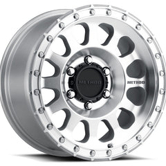 Method Wheels MR315 Silver Machined