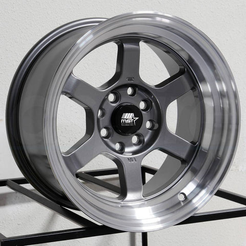 MST Wheels Time Attack Gunmetal
