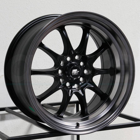 MST Wheels MT11 Black Black Lip