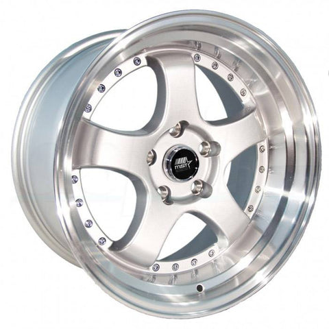 MST Wheels MT07 Silver