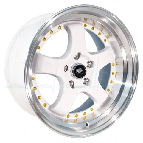 MST Wheels MT07 White