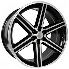 Strada Replica Wheels R148 Iroc Black Machine Tips