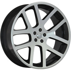 Strada Replica Wheels R107 SRT10 Black Machine