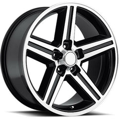 Strada Replica Wheels R148 Iroc Black Machine
