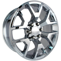 Strada Replica Wheels R150 GMC Sierra Chrome