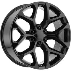 Strada Replica Wheels R176 Snowflake Black