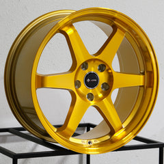 Vors Wheels TR37 Candy Gold