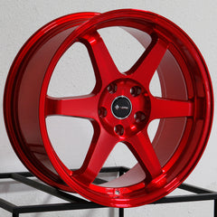 Vors Wheels TR37 Candy Red