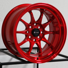 Vors Wheels TR3 Candy Red