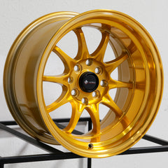 Vors Wheels TR3 Candy Gold