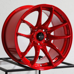 Vors Wheels TR4 Candy Red