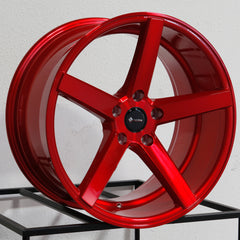 Vors Wheels TR5 Candy Red