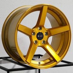 Vors Wheels TR5 Candy Gold