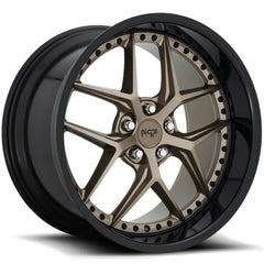 Niche Wheels M227 Vice Bronze Black