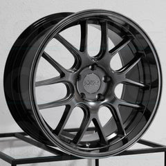 XXR Wheels 530D Chromium Black