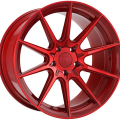 F1R Wheels F101 Candy Red
