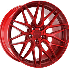 F1R Wheels F103 Candy Red
