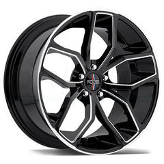 Foose Wheels F150 Outcast Black Milled