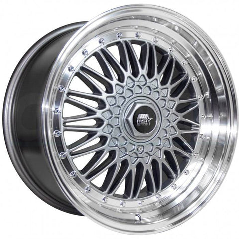 MST Wheels MT13 Gunmetal