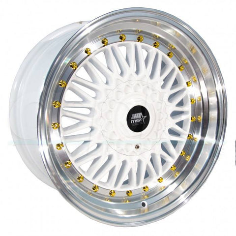 MST Wheels MT13 White