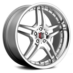 MRR Wheels RW2 Silver Chrome Lip