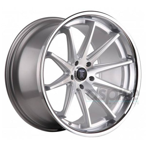 Rohana Wheels RC10 Silver