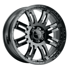 Vision Wheels 375 Warrior Gloss Black