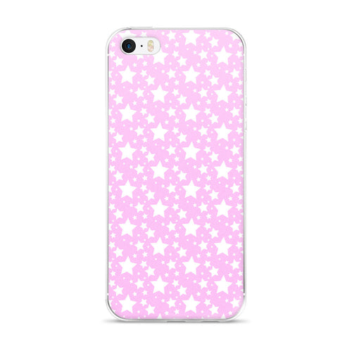 BABY PINK STARZ IPHONE 5/5S/SE, 6/6S, 6/6S PLUS CASE
