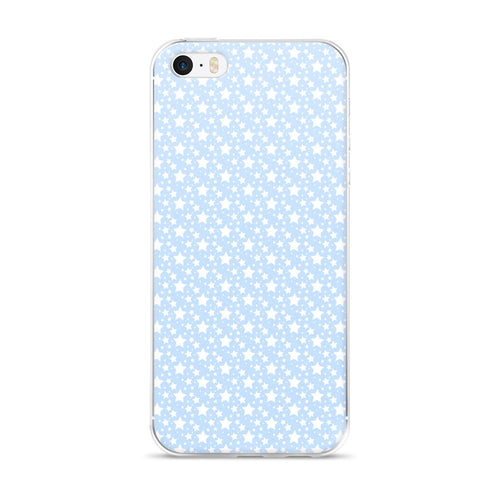 BABY BLUE STARZ IPHONE 5/5S/SE, 6/6S, 6/6S PLUS CASE